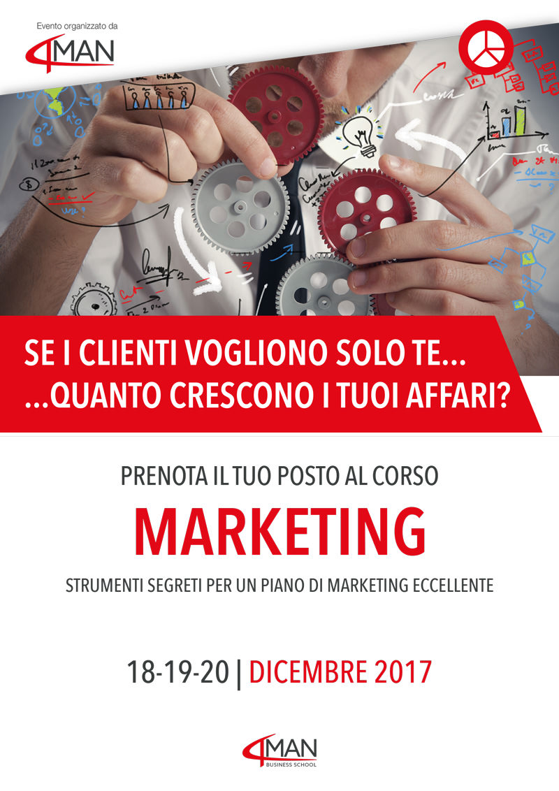Corso Marketing 4man